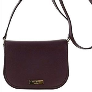 Kate Spade mulled wine laurel way crossbody